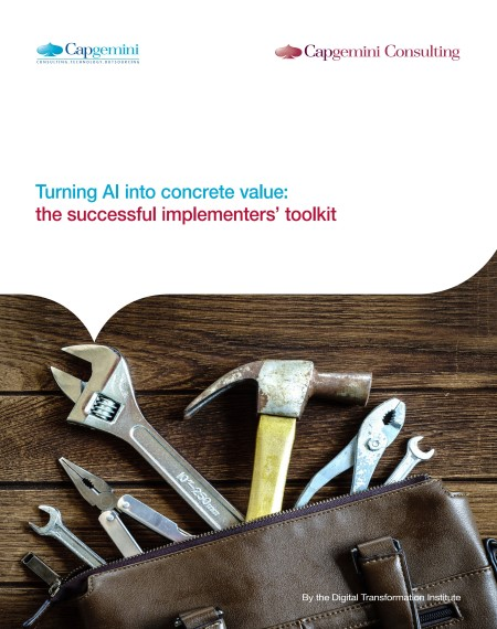AI Concrete Value Cover Page